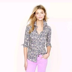 J. Crew Perfect Fit Liberty Floral Top